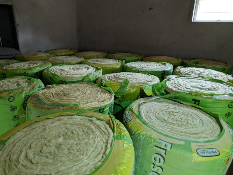 More glass wool