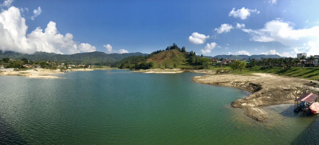 Lac of penol in Guatape